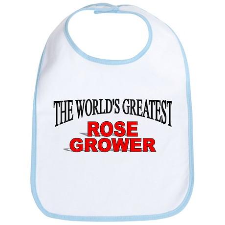 """The World's Greatest Rose Grower"" Bib"