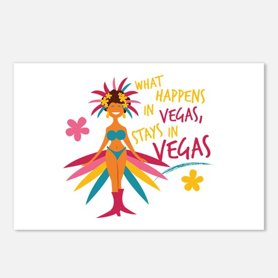 Stays In Vegas Postcards (Package of 8)