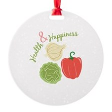 Health & Happiness Ornament