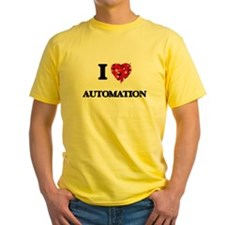 I Love Automation T-Shirt
