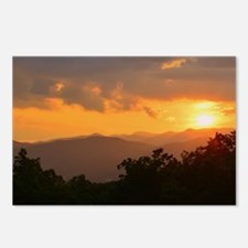 Pisgah Forest Sunset Postcards (Package of 8)