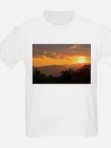 Pisgah Forest Sunset T-Shirt