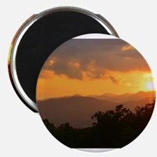 Pisgah Forest Sunset Magnets