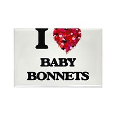 I Love Baby Bonnets Magnets