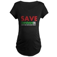Save Survivors UK Maternity T-Shirt