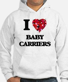 I Love Baby Carriers Hoodie