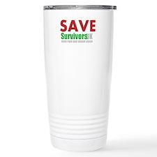 Save Survivors UK Travel Mug