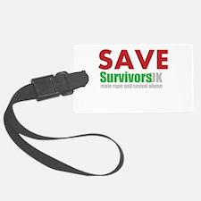 Save Survivors UK Luggage Tag