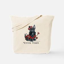 Celtic Scottish Terrier Tote Bag
