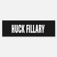 Huck Fillary Bumper Bumper Bumper Sticker