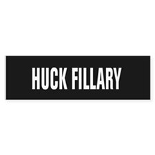 Huck Fillary Bumper Stickers