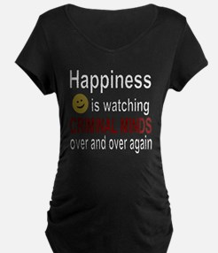 Happiness is watching CRIMI T-Shirt
