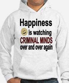 Happiness is watching CRIMINAL M Hoodie