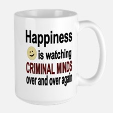 Happiness is watching CRIMINAL MINDS ov Mug