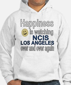 Happiness is watching NCIS Los A Hoodie