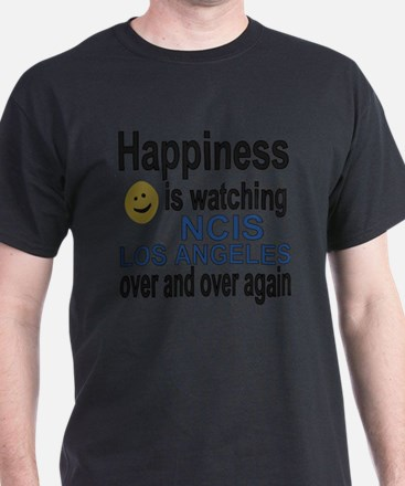 Happiness is watching NCIS Los Angele T-Shirt