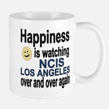 Happiness is watching NCIS Los Angeles  Mug