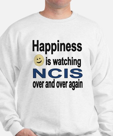 Happiness is Watching NCIS Sweater