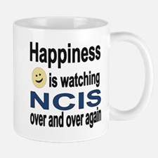 Happiness is Watching NCIS Small Small Mug