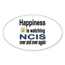 Happiness is Watching NCIS Decal