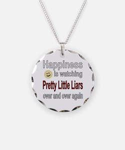 Happiness is Watching Pretty Necklace