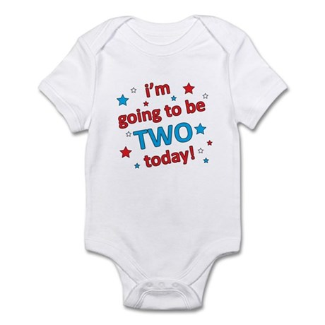 Patriotic 2nd Birthday Infant Bodysuit