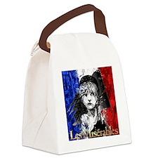 Les Mis Logo Canvas Lunch Bag