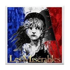 Les Mis Logo Tile Coaster