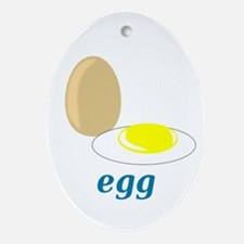 Egg Ornament (Oval)