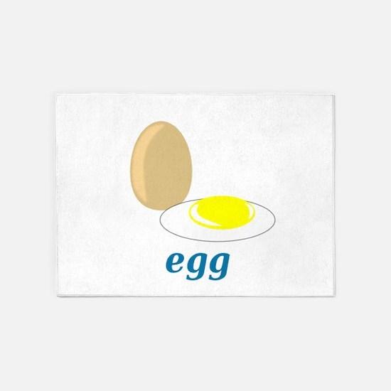 Egg 5'x7'Area Rug