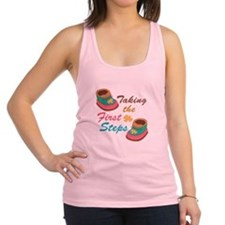 First Steps Racerback Tank Top