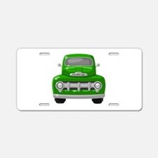 1951 Ford Pickup Aluminum License Plate