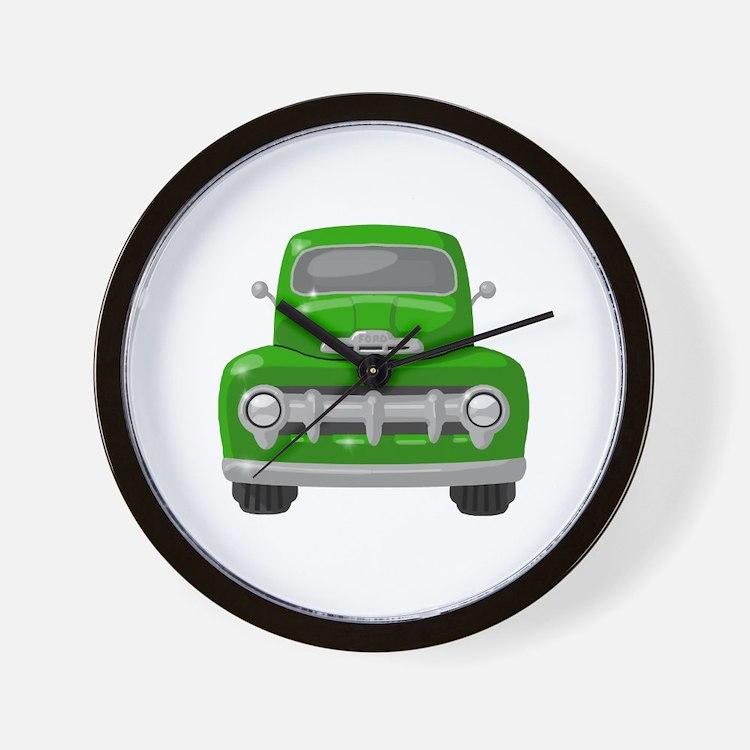 1951 Ford Pickup Wall Clock