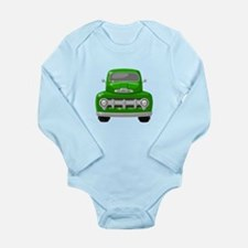 1951 Ford Pickup Long Sleeve Infant Bodysuit