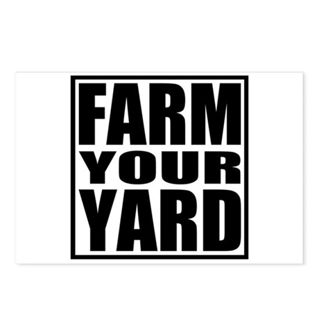 Farm Your Yard Postcards (Package of 8)