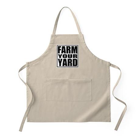 Farm Your Yard BBQ Apron