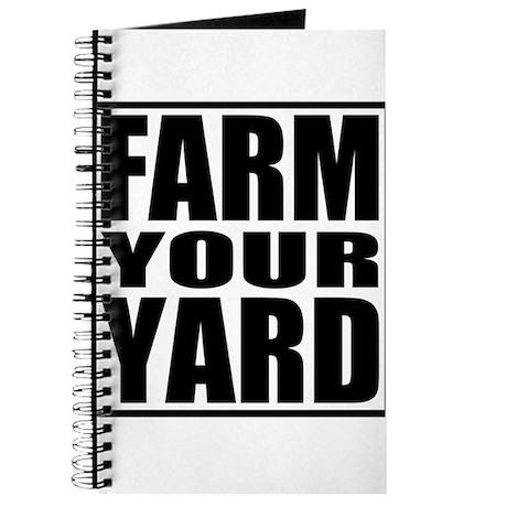 Farm Your Yard Journal