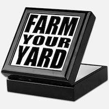 Farm Your Yard Keepsake Box
