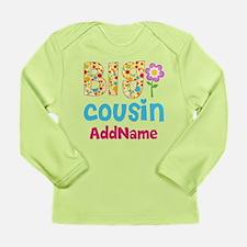 Big Cousin Floral Dots Long Sleeve Infant T-Shirt