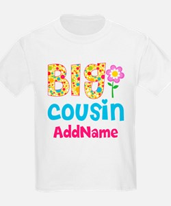 Big Cousin Floral Dots Personal T-Shirt