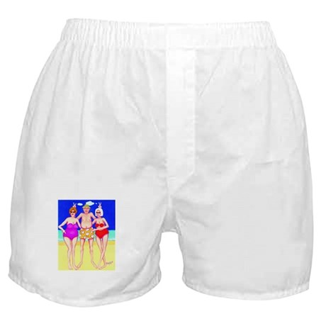 Harrys a Hoot Beach Boxer Shorts