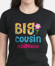 Big Cousin Floral Dots Person Tee