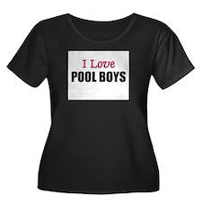 I Love POOL BOYS T