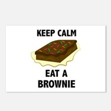 Eat A Brownie Postcards (Package of 8)
