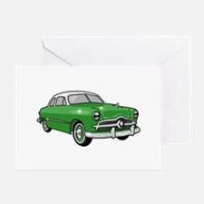 1949 Ford Sedan Greeting Card