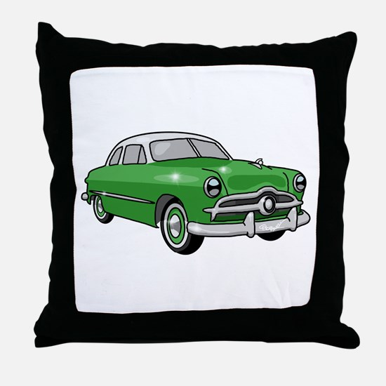 1949 Ford Sedan Throw Pillow