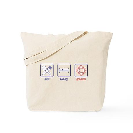Eat. Sleep. Guard. Tote Bag