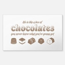 Life is like a box of chocolates Decal