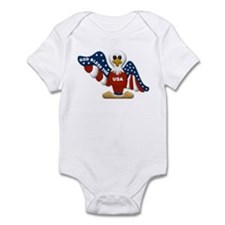 God Bless the USA... Infant Bodysuit