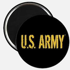 "U.S. Army: Black & Gold 2.25"" Magnet (10 pack)"